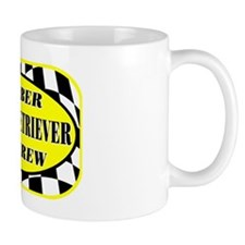 goldenretrieverpitcrew_black Mug