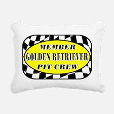 goldenretrieverpitcrew Rectangular Canvas Pillow