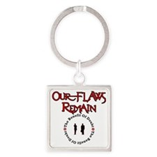 OFR Logo Thong Square Keychain