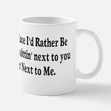 next to you10x3 Mug