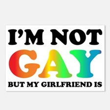 Im not gay3 Postcards (Package of 8)