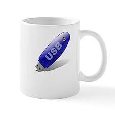 Back That Up USB White Mug
