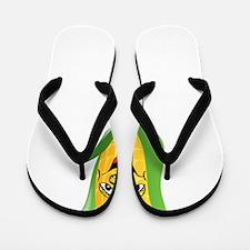 Corn See Tomorrow White Flip Flops