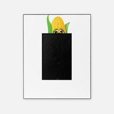 Corn See Tomorrow White Picture Frame