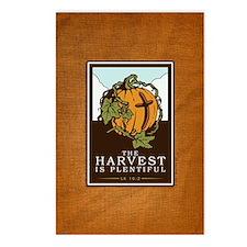 18x13-6_HarvestPlentiful_ Postcards (Package of 8)
