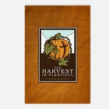 18x13-6_HarvestPlentiful_ Postcards (Package of 8)