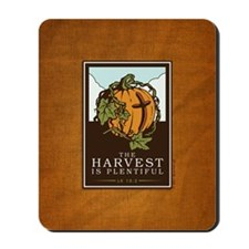 18x13-6_HarvestPlentiful_BG01 Mousepad