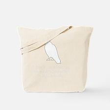 Edgar Allen Poe Quote White Tote Bag