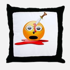Emurdercon White Throw Pillow