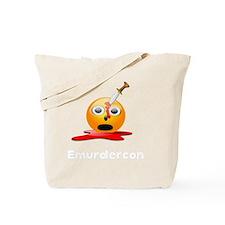 Emurdercon White Tote Bag