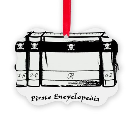 PIRATE ENC IN PROGRESS Picture Ornament