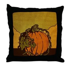 11x17_PumpkinPatch_BG02 Throw Pillow