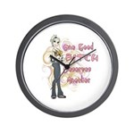 One Good Bitch Wall Clock