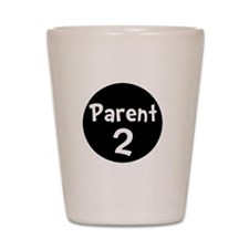 Parent 2 White Shot Glass