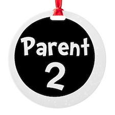 Parent 2 White Ornament