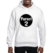 Parent 2 White Jumper Hoody