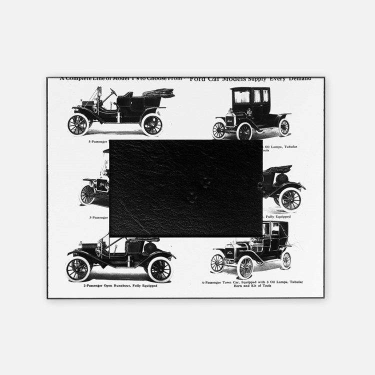 1911 model t ad picture frame