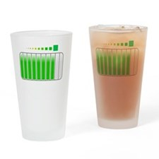 Sarcastic Comment Loading White Drinking Glass