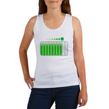 Sarcastic Comment Loading White Women's Tank Top
