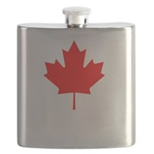 The EH Team White Flask