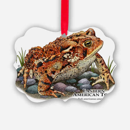Eastern American Toad Ornament