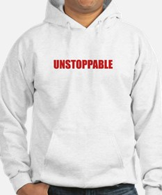 Unstoppable White Hoodie