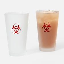 Zombie Response Team White Drinking Glass