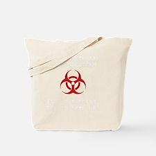 Zombie Response Team White Tote Bag