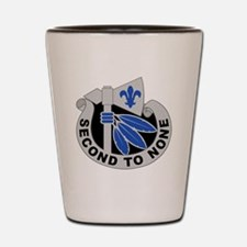 2nd Infantry Division - DUI Shot Glass