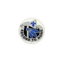 2nd Infantry Division - DUI Mini Button