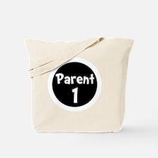 Parent 1 White Tote Bag