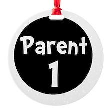 Parent 1 White Ornament