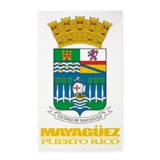Mayaguez COA 3'x5' Area Rug