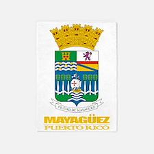 Mayaguez COA 5'x7'Area Rug