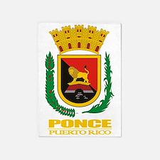 Ponce COA 5'x7'Area Rug