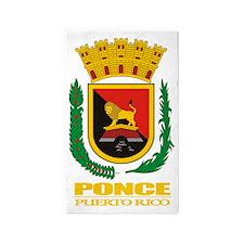 Ponce COA 3'x5' Area Rug
