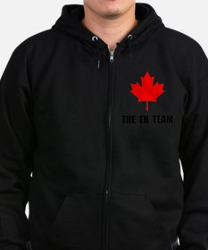 The EH Team Black Zip Hoodie