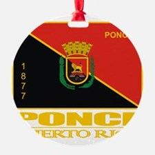 Ponce Flag Ornament