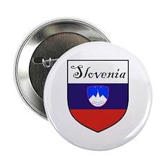 Slovenia Flag Crest Shield 2.25