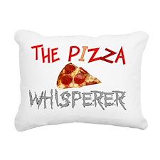 Pizza Lovers Rectangular Canvas Pillow
