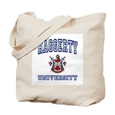 HAGGERTY University Tote Bag