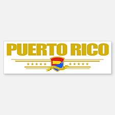 Puerto Rico (Flag 10) pocket Bumper Bumper Sticker
