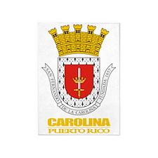 Carolina COA 5'x7'Area Rug
