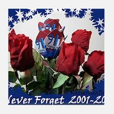 Never Forget  2001-2011    Tile Coaster