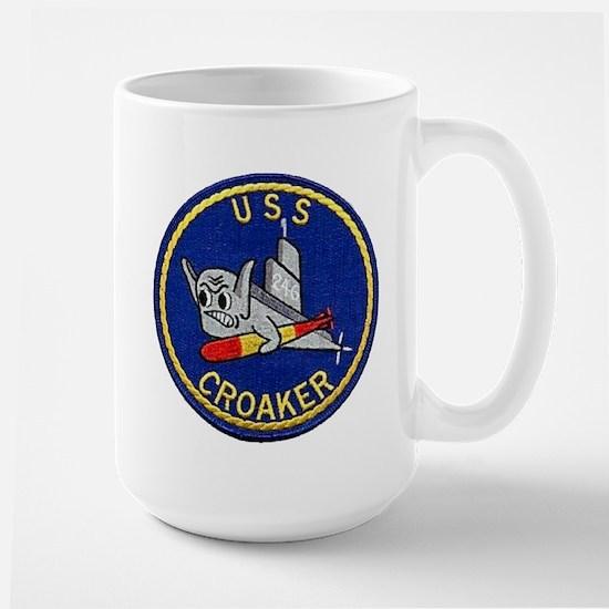 USS CROAKER Mugs