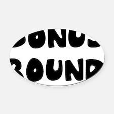 BONUSROUND Oval Car Magnet