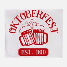 oktFest1A Throw Blanket