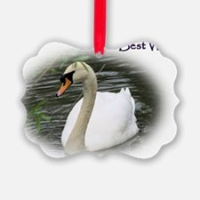 Swan (Best Wishes) Ornament