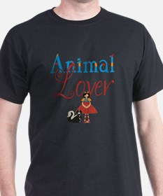 animal lover pic words-001 T-Shirt