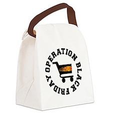 BLACK FRIDAY BLACK-001 Canvas Lunch Bag